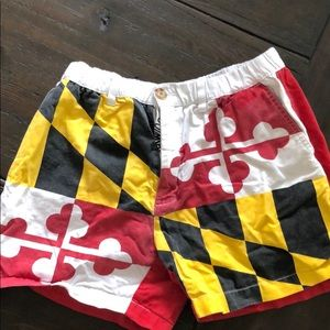 Chubbies Limited Edition Maryland Flag Shorts